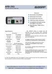 AFB-250-datasheet-EN-V1