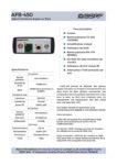 AFB-450-datasheet-FR-V1