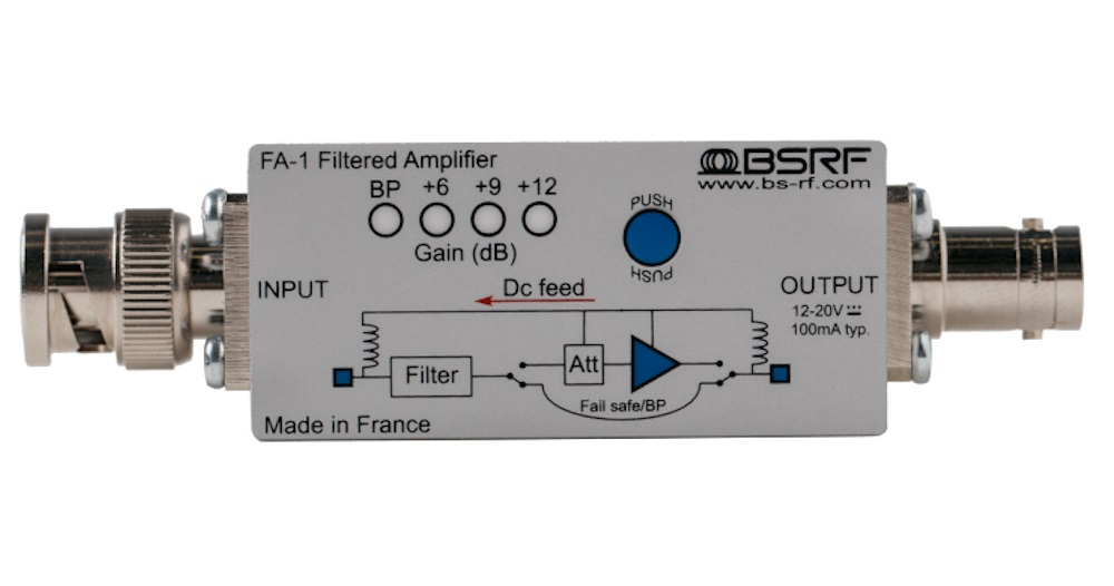 FA-1 Filtered amplifier